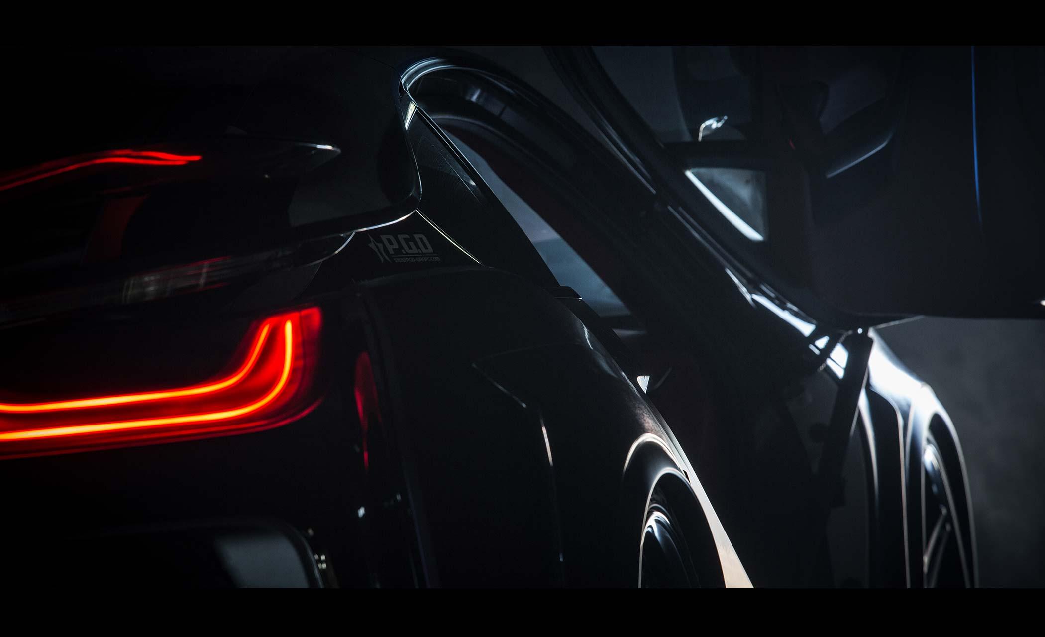 Energy Motorsport - BMW i8 Dark Knight Edition - 2017 - rear light