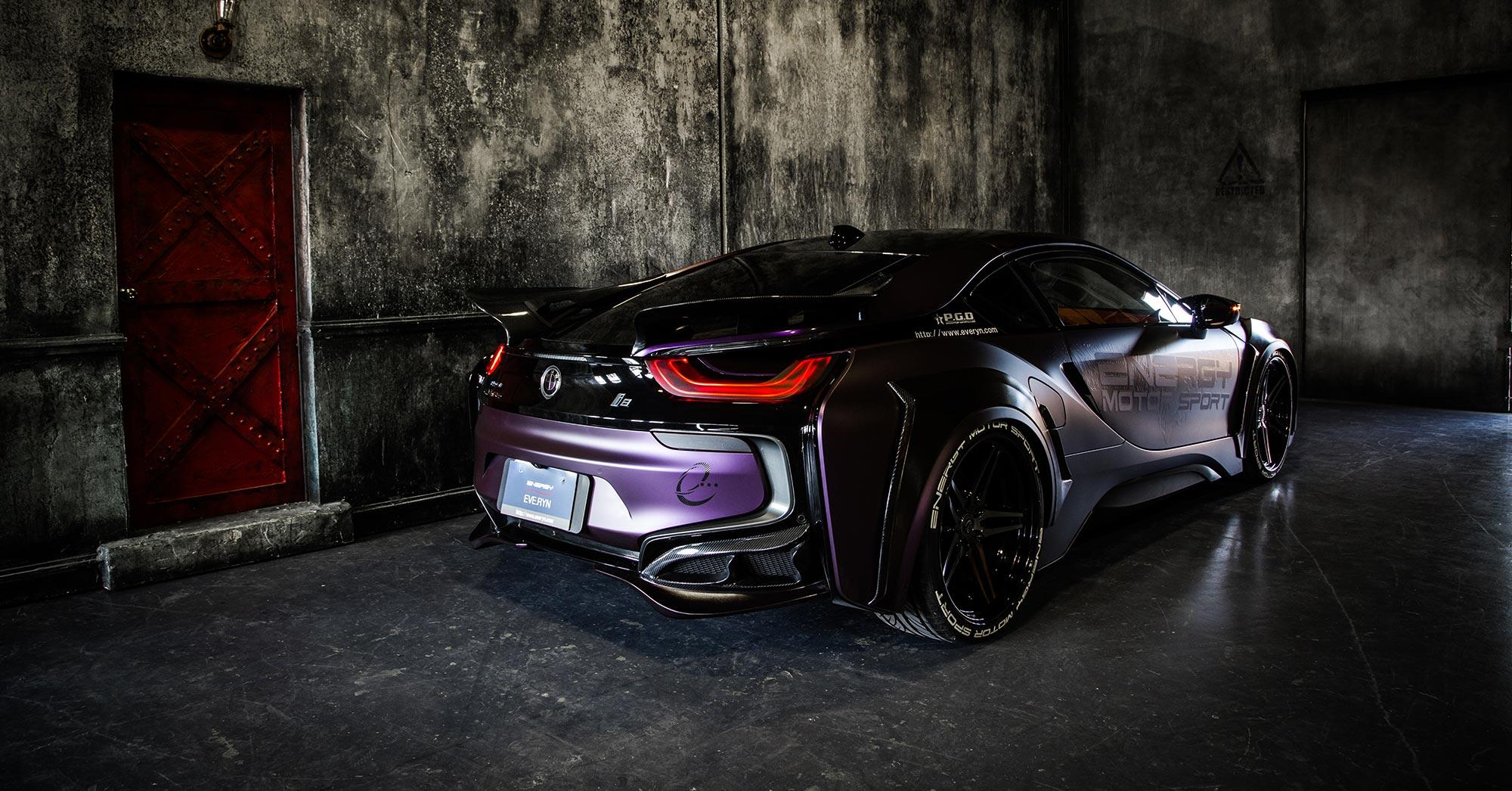 Energy Motorsport - BMW i8 Dark Knight Edition - 2017 - rear