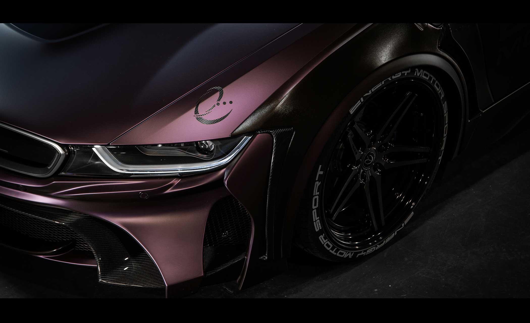 Energy Motorsport - BMW i8 Dark Knight Edition - 2017 - wheel