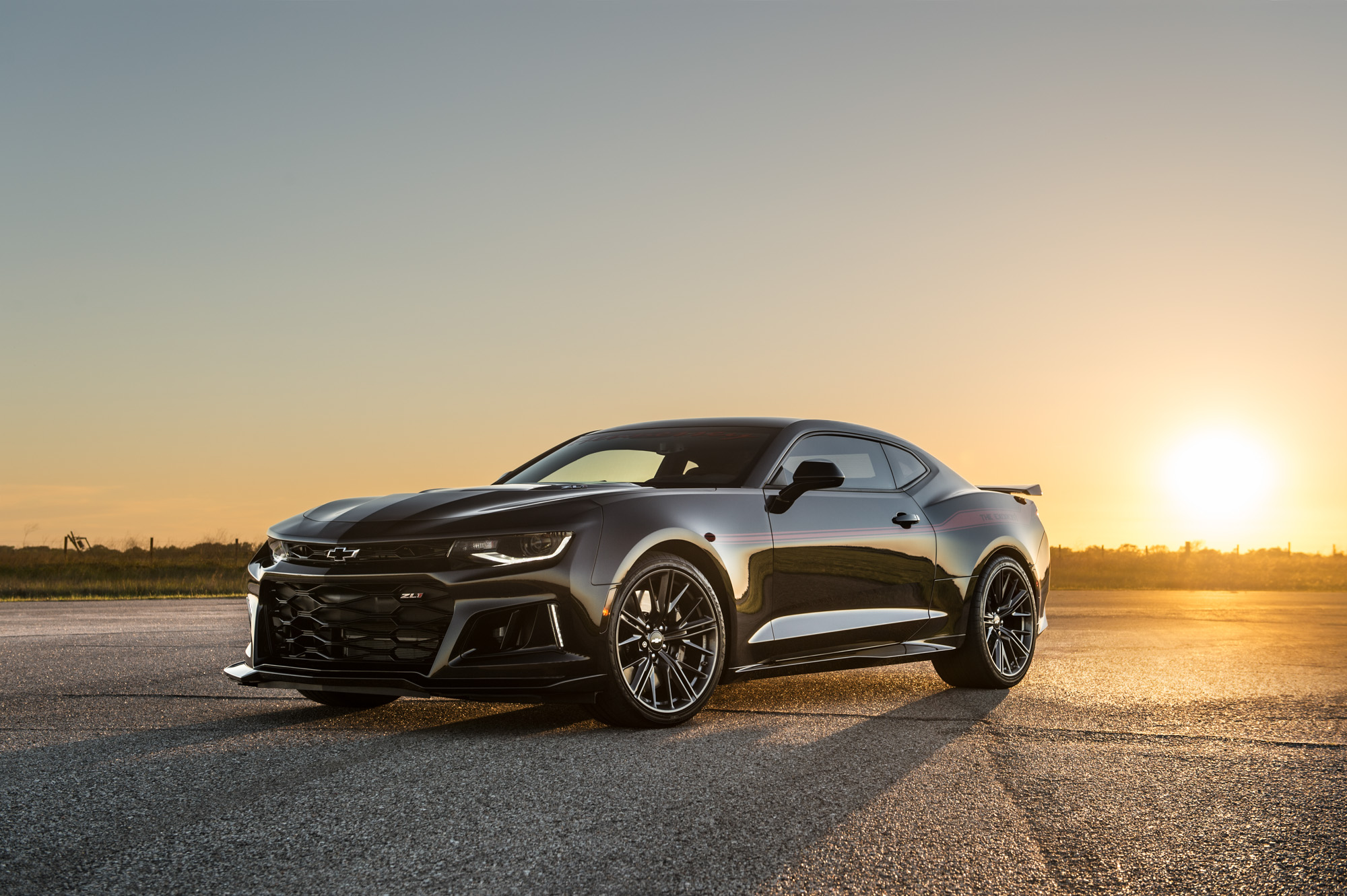 The Exorcist Hennessey Camaro ZL1 - 2017 - front side face
