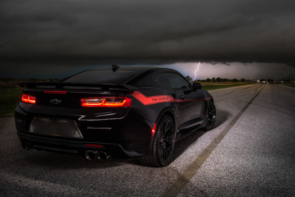 The Exorcist Hennessey Camaro ZL1 - 2017 - rear side face
