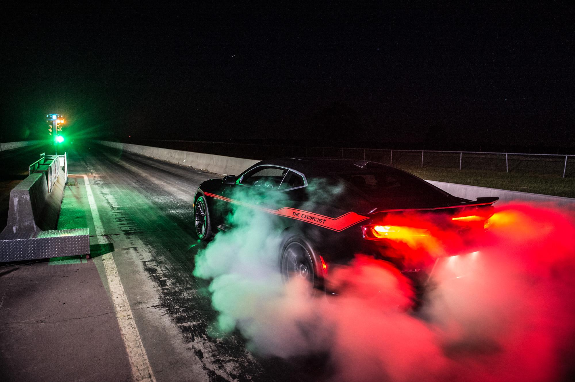 The Exorcist Hennessey Camaro ZL1 - 2017 - rear light