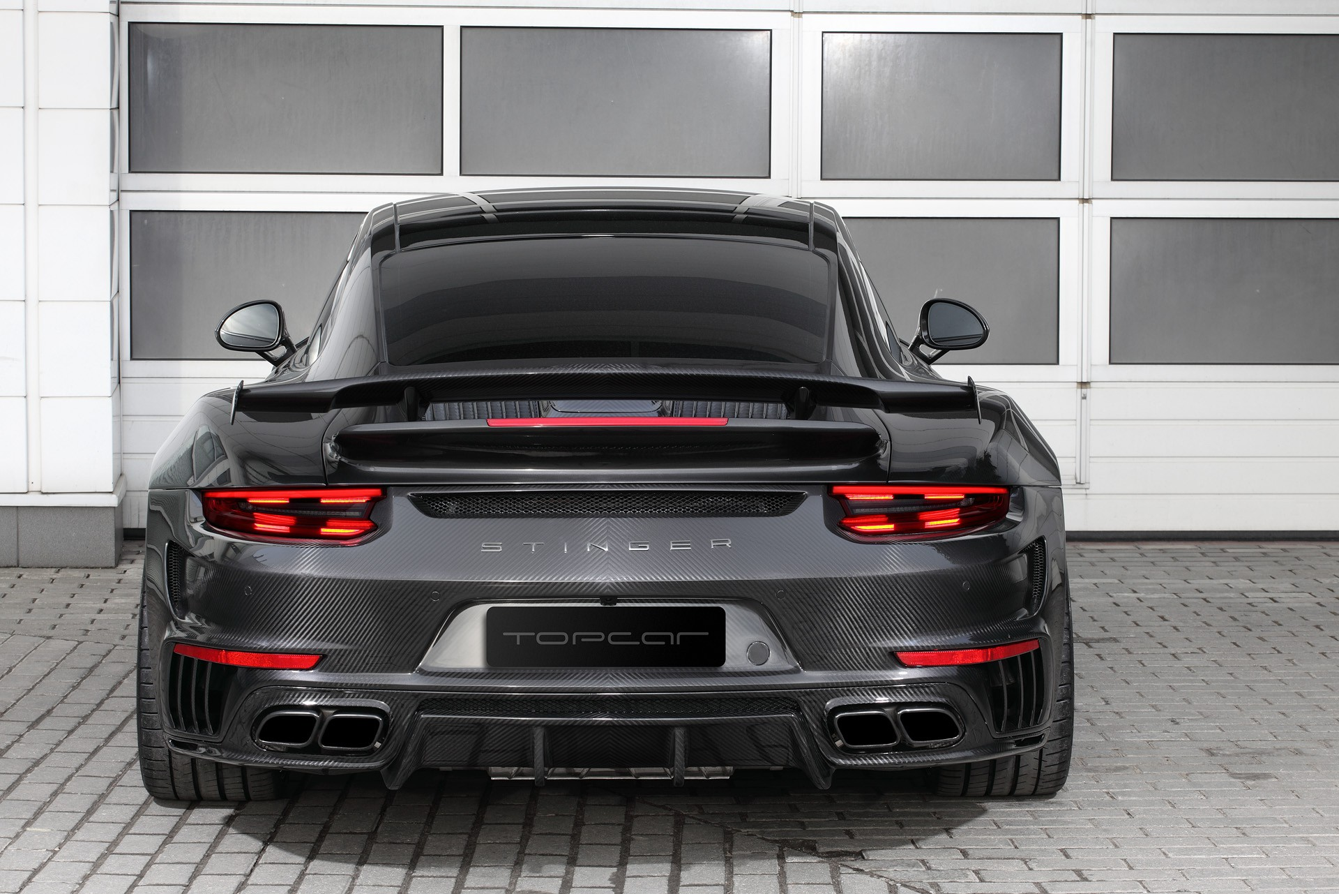 Topcar 911 Type 991 Turbo Stinger GTR Carbon - 2017 - rear