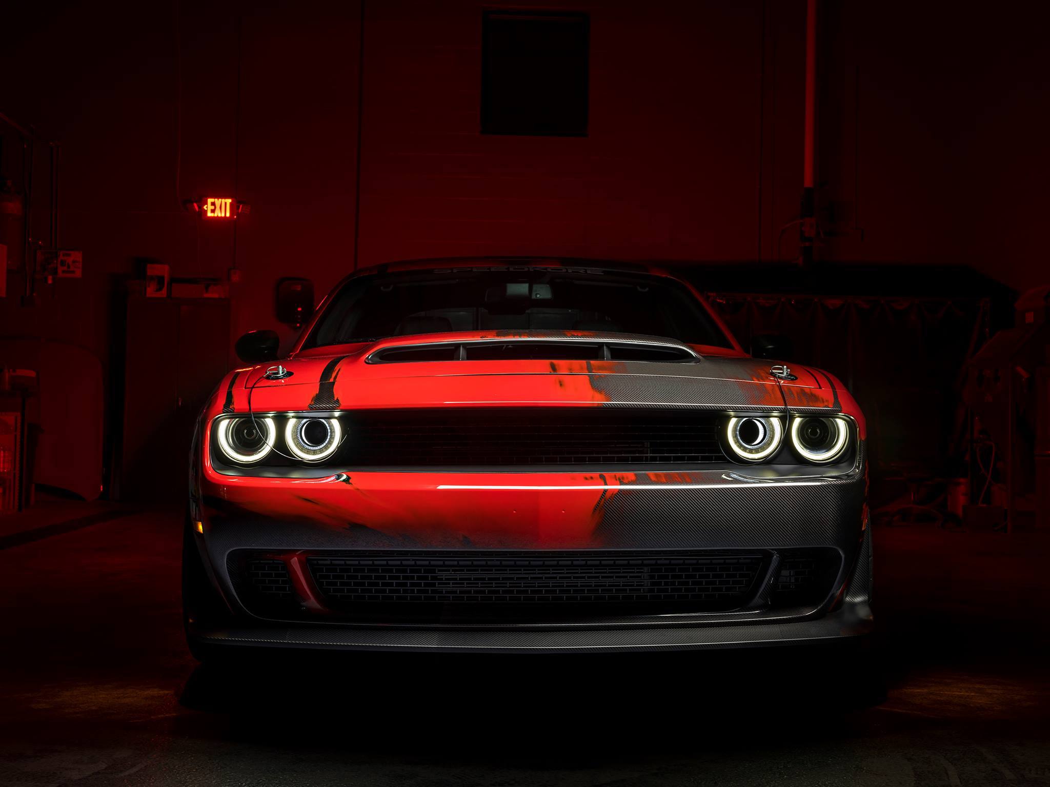SpeedKore Dodge Demon - 2017 - front-face