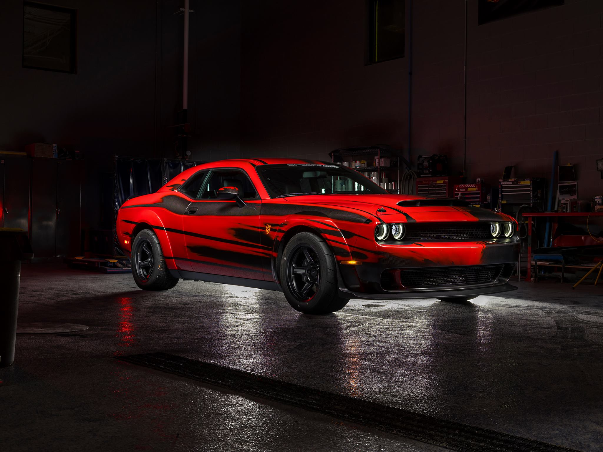 SpeedKore Dodge Demon - 2017 - front side-face
