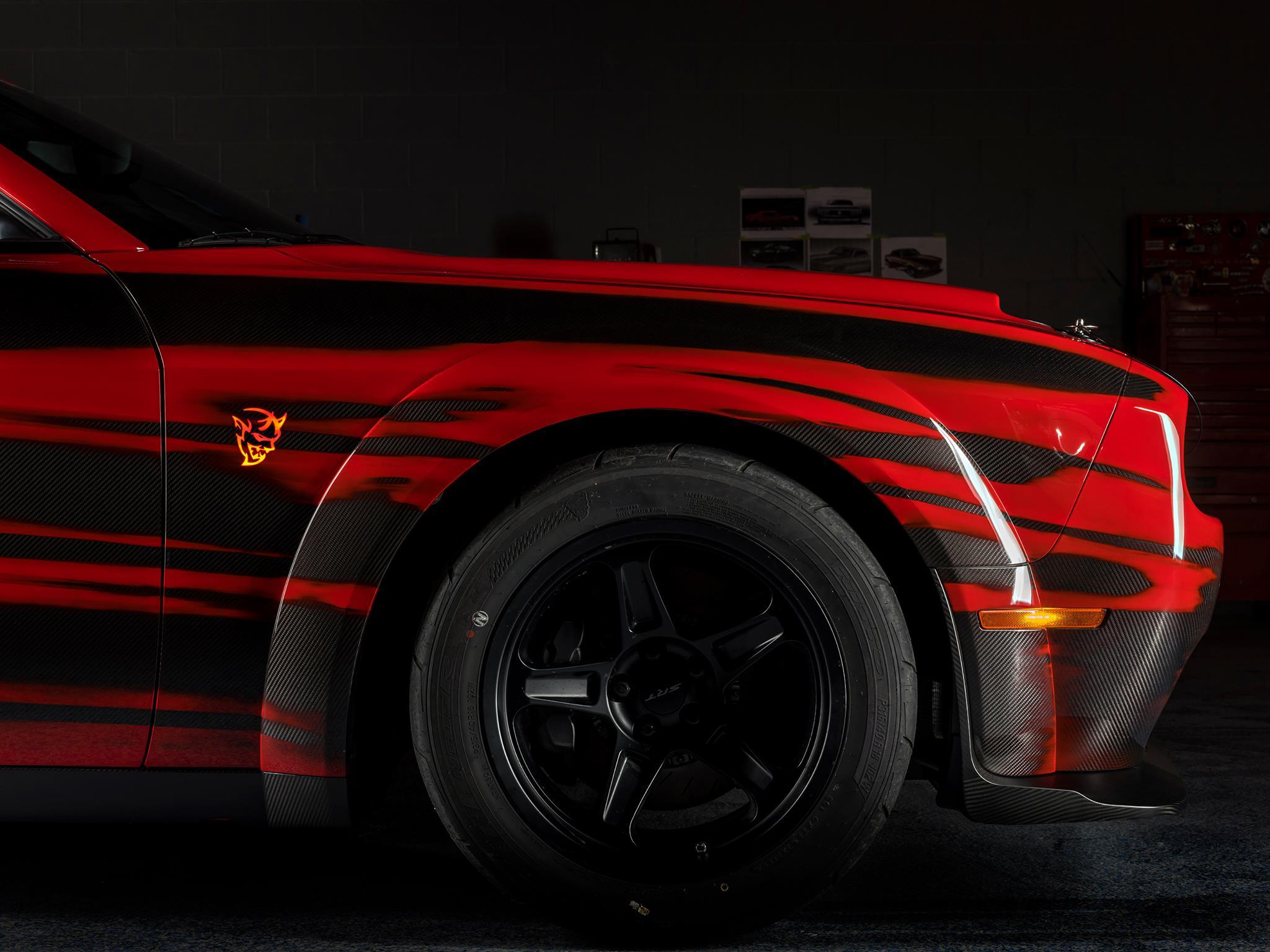 SpeedKore Dodge Demon - 2017 - front wheel
