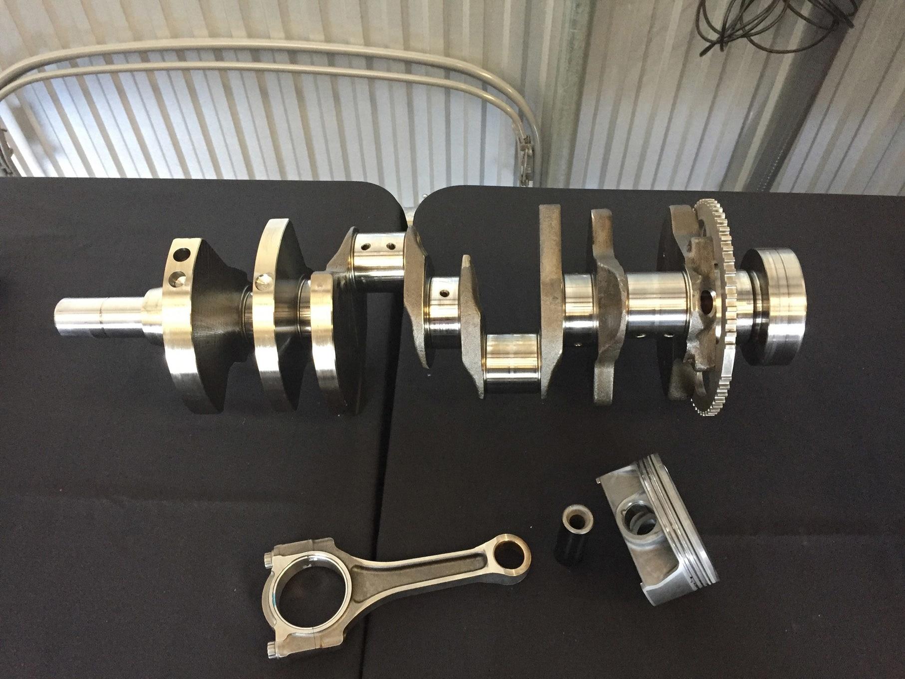 Dodge Demon - 2017 - HEMI engine crankshaft - photo via hotrod.com
