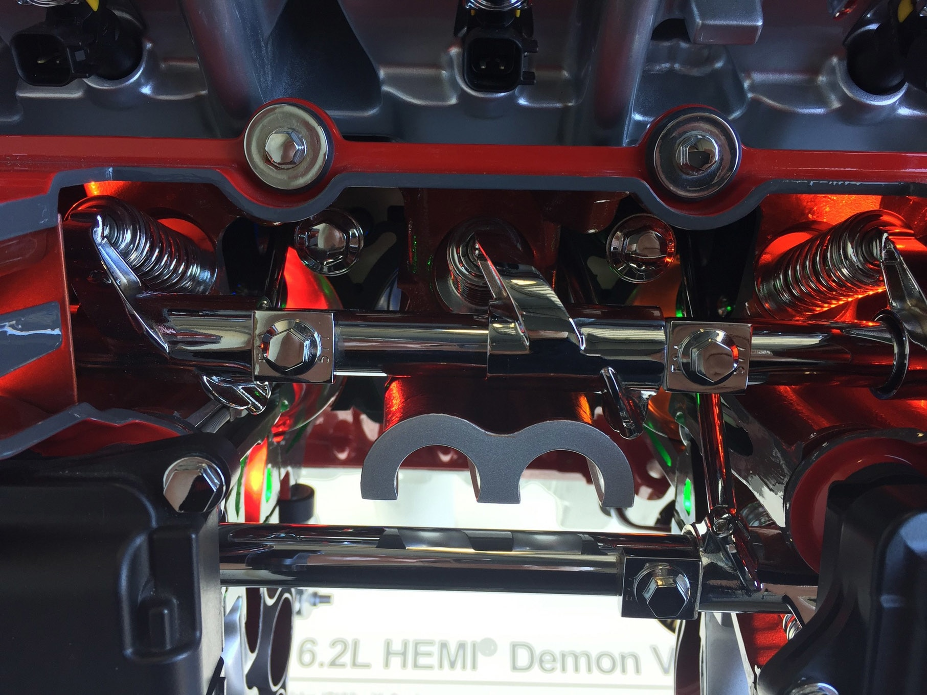 Dodge Demon - 2017 - HEMI engine inside - photo via hotrod.com