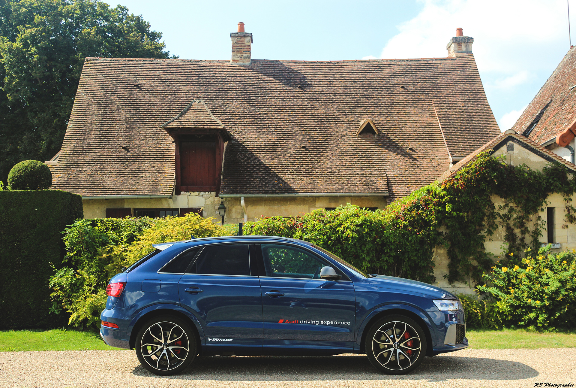 Audi RS Q3 - profil / side-face - photo Arnaud Demasier