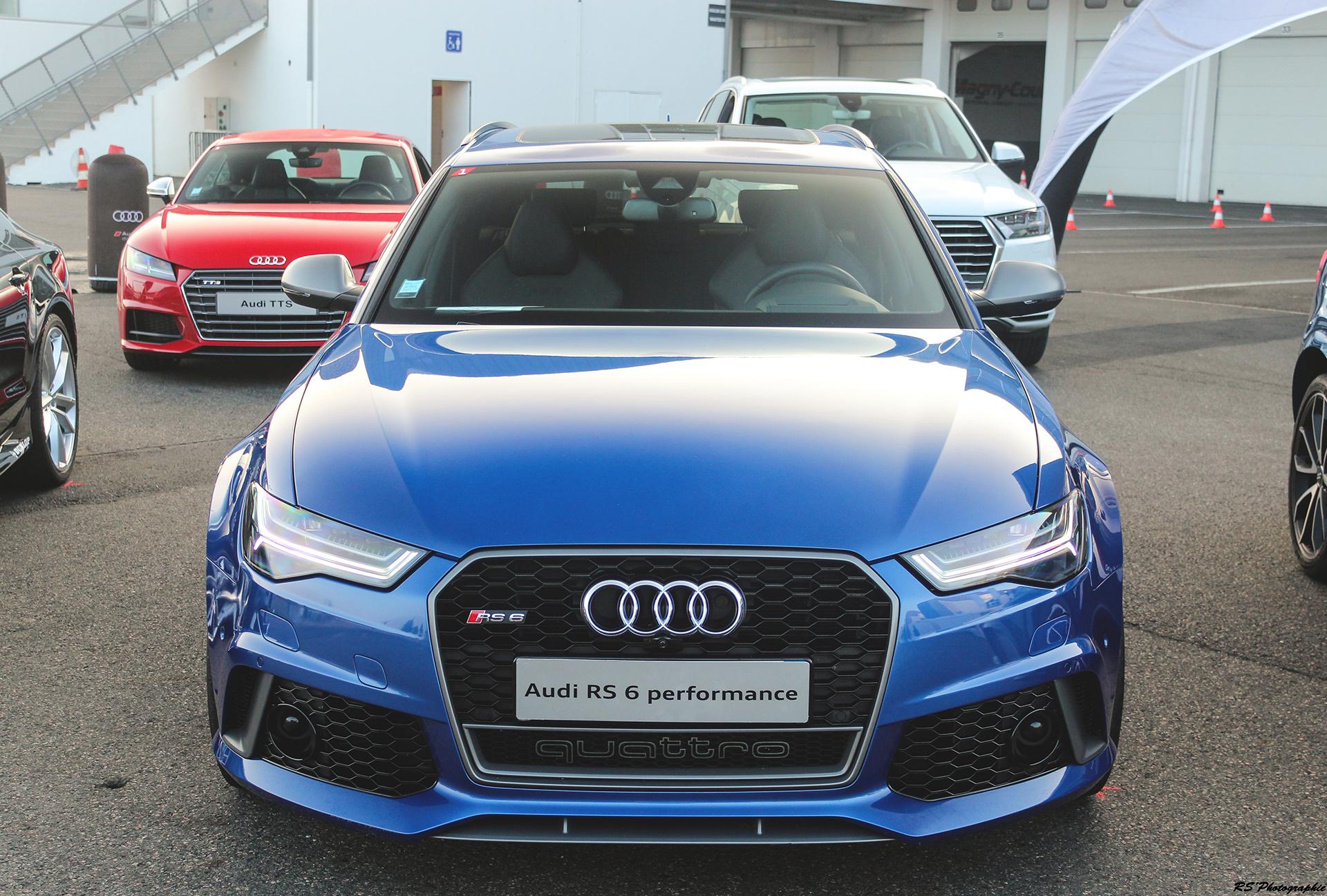 Audi RS6 Performance - face avant / face avant - photo Arnaud Demasier