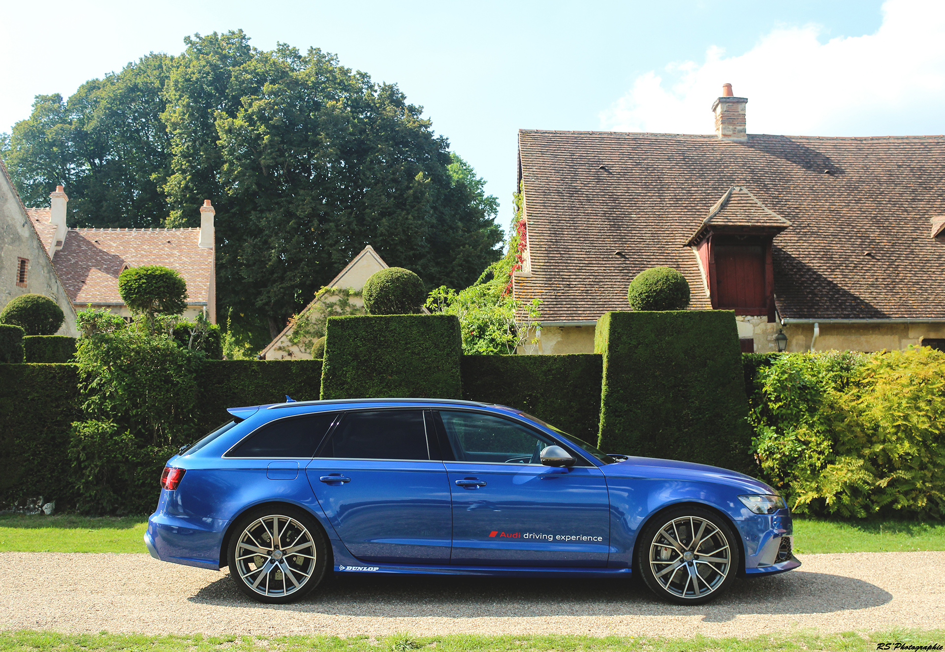 Audi RS6 Performance - profil / side-face - photo Arnaud Demasier