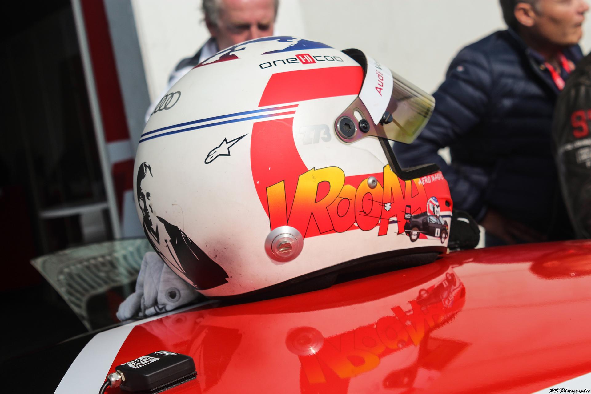 casque de pilote / drive helmet - photo Arnaud Demasier