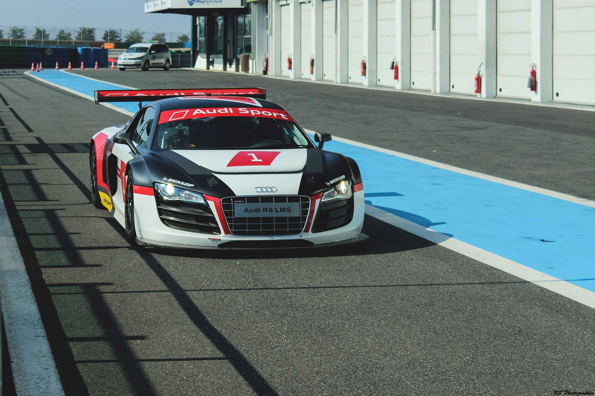 Audi R8 LMS GT3 - avant / front - photo Arnaud Demasier