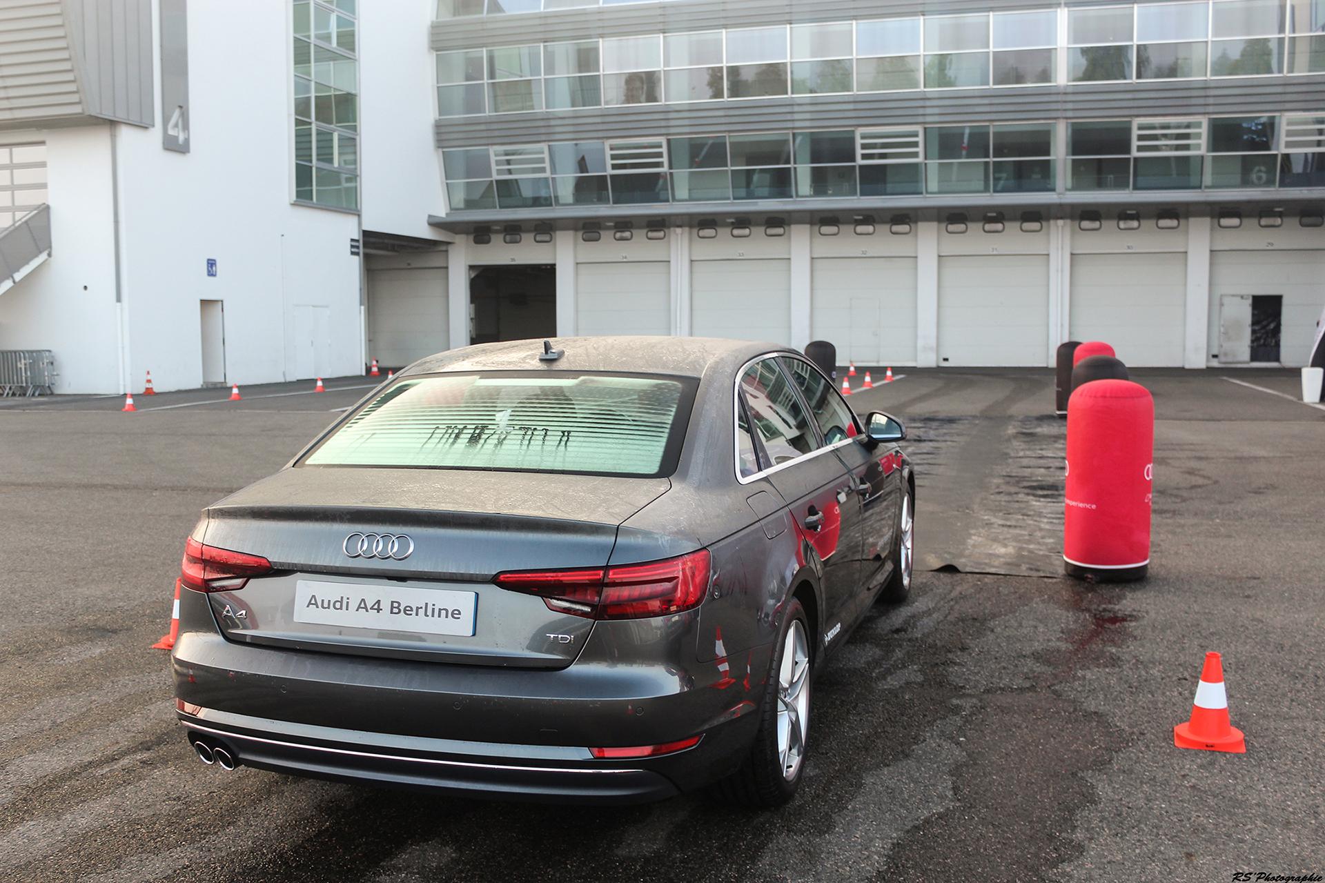 Audi A4 Berline - arrière / rear - photo Arnaud Demasier
