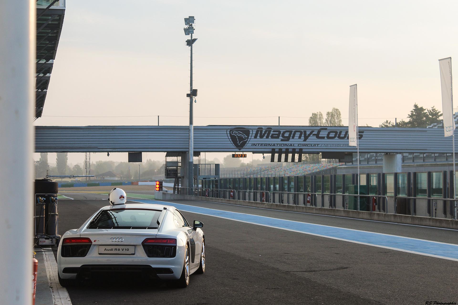 Audi R8 V10 Plus - arrière / rear - photo Arnaud Demasier