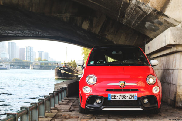 Abarth 595 - avant / front - photo Arnaud Demasier - RS Photographie