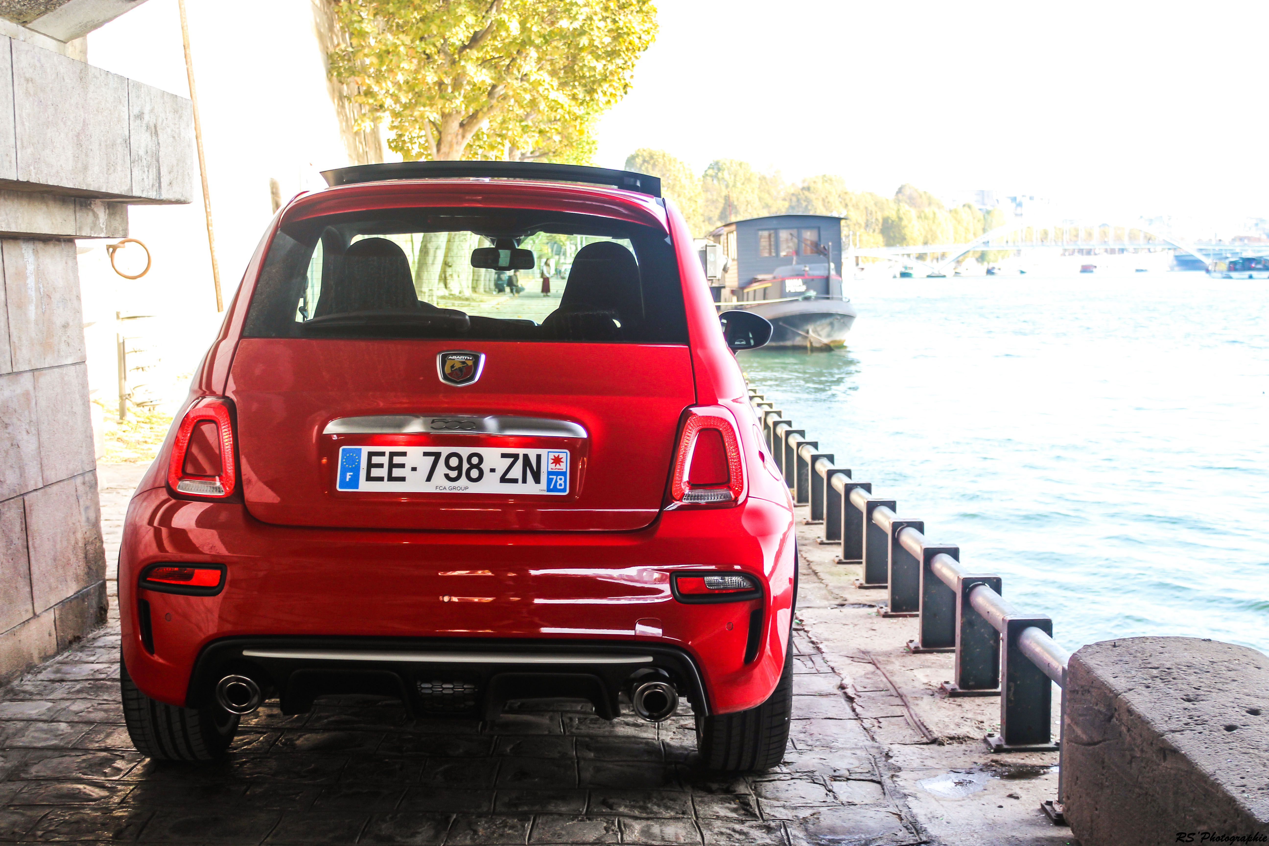 Abarth 595 - arrière / rear - photo Arnaud Demasier - RS Photographie