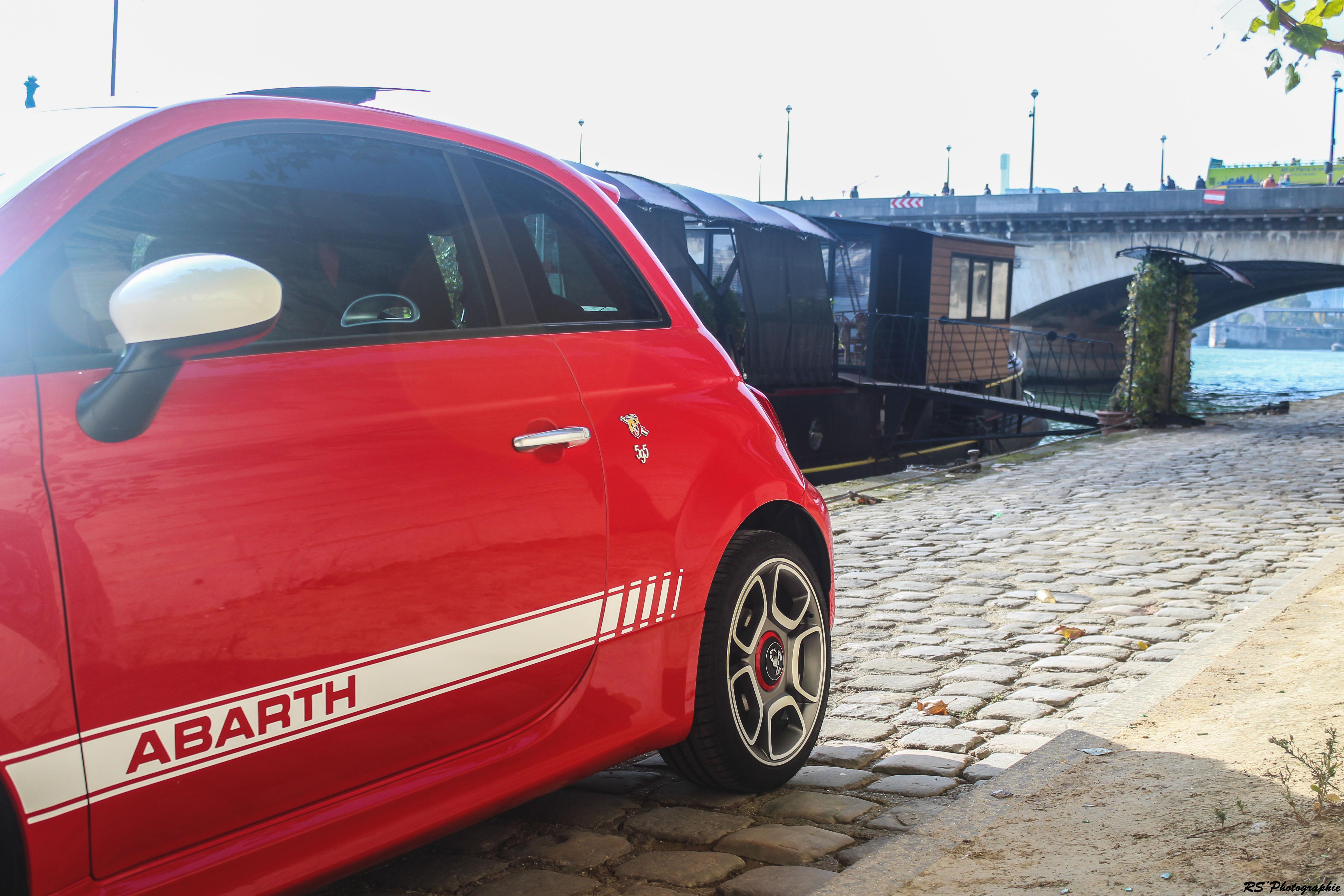Abarth 595 - côté arrière / rear side view - photo Arnaud Demasier - RS Photographie