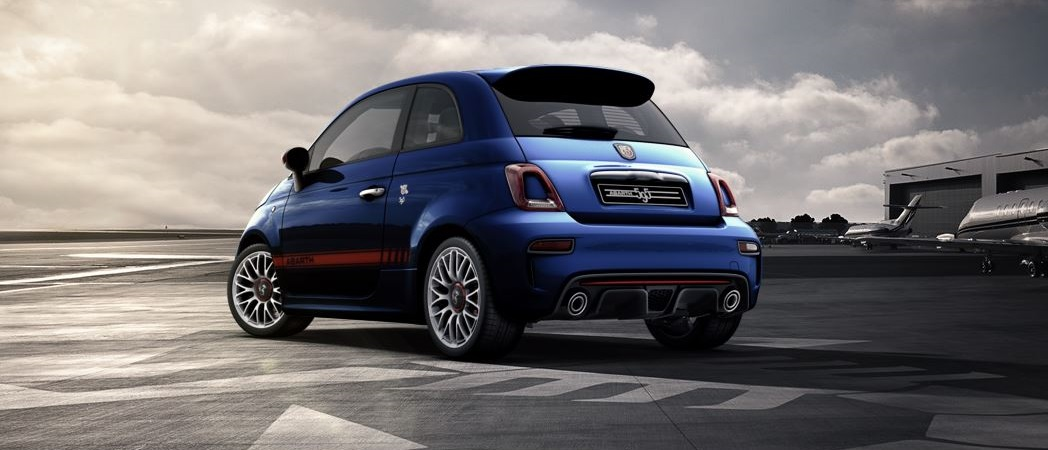 Abarth 595 - arrière / rear - photo configurateur abarth.com