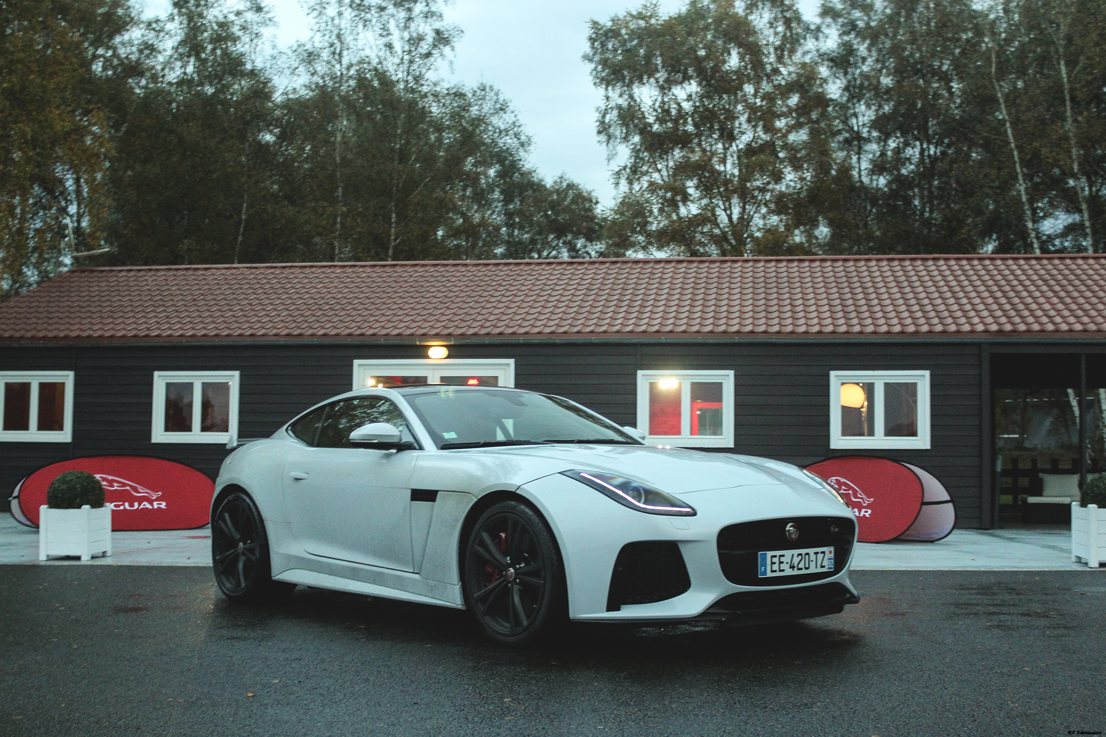 Jaguar F-Type SVR - avant / front - zoom - photo Arnaud Demasier - RS Photographie