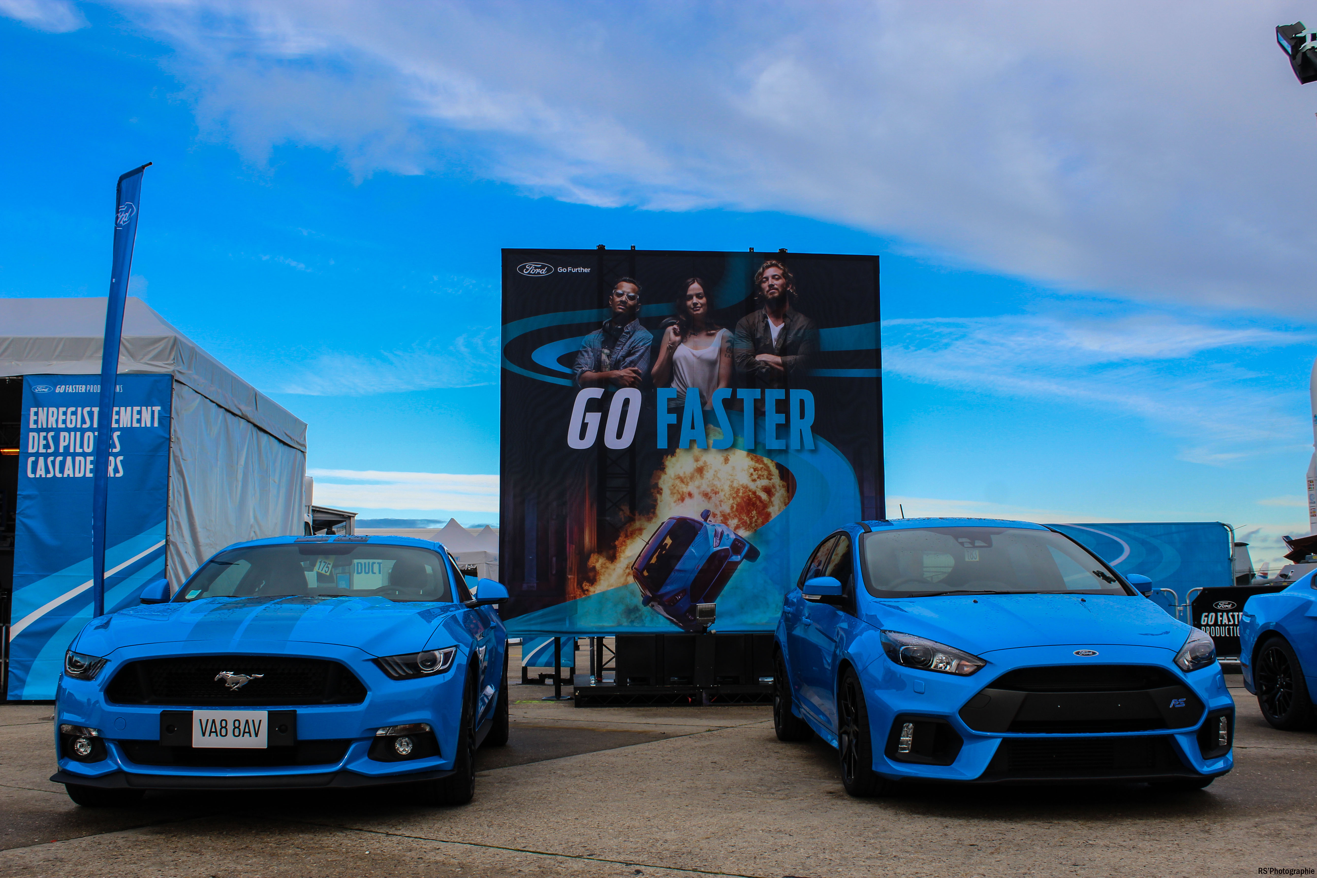 gofaster3-opération-go-faster-focus-rs-mustang-avant-front-Arnaud Demasier-RSPhotographie