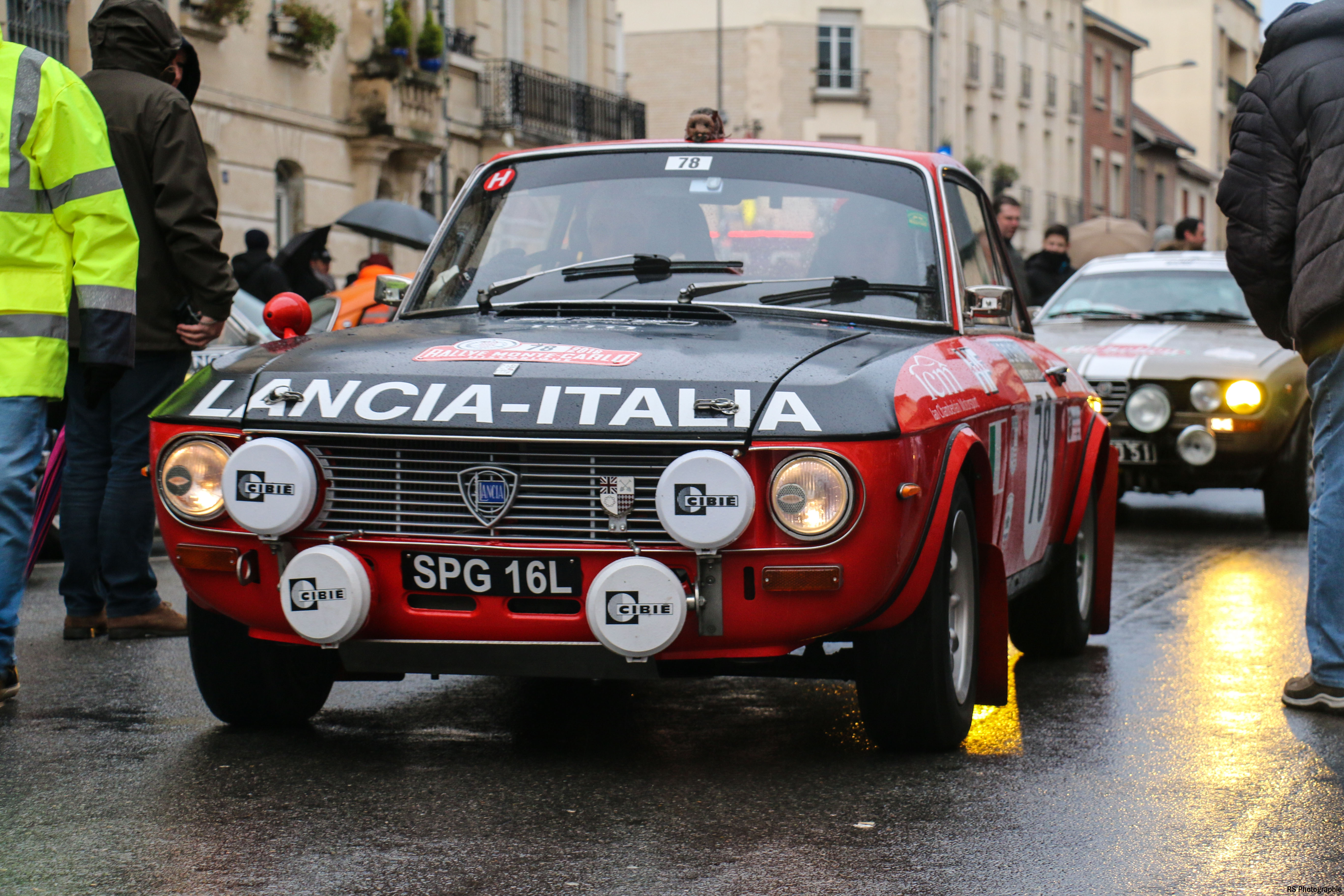 Lancia-Fulvia-1600HF-avant-front-Arnaud Demasier-RSPhotographie