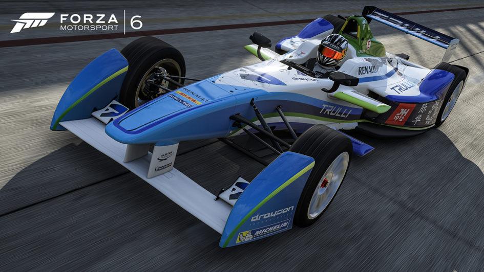 Forza Motorsport 6 - monoplace Formula-E - 2014-2015 - e.dams-Renault