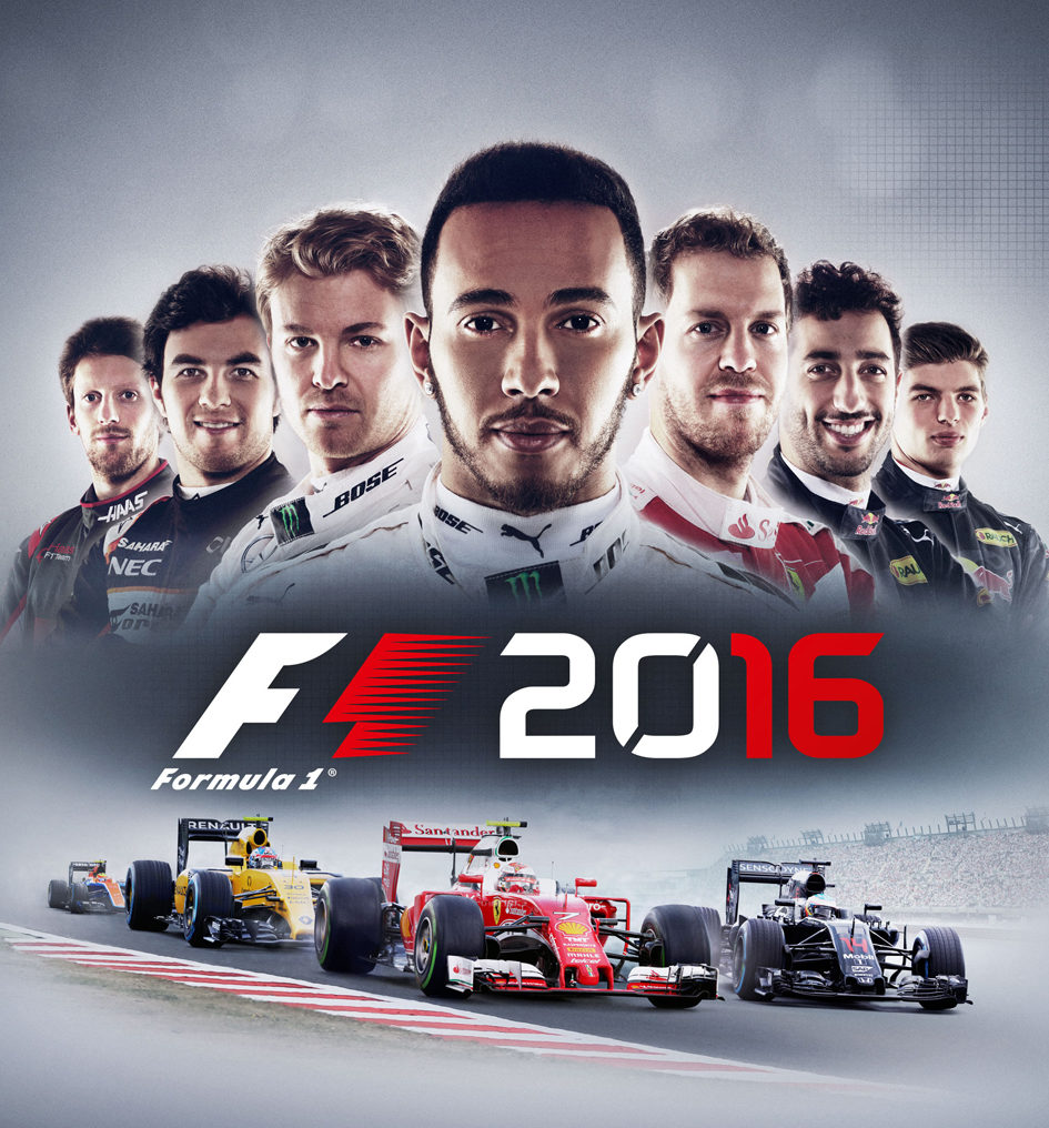 F1 2016 - game art box - cover