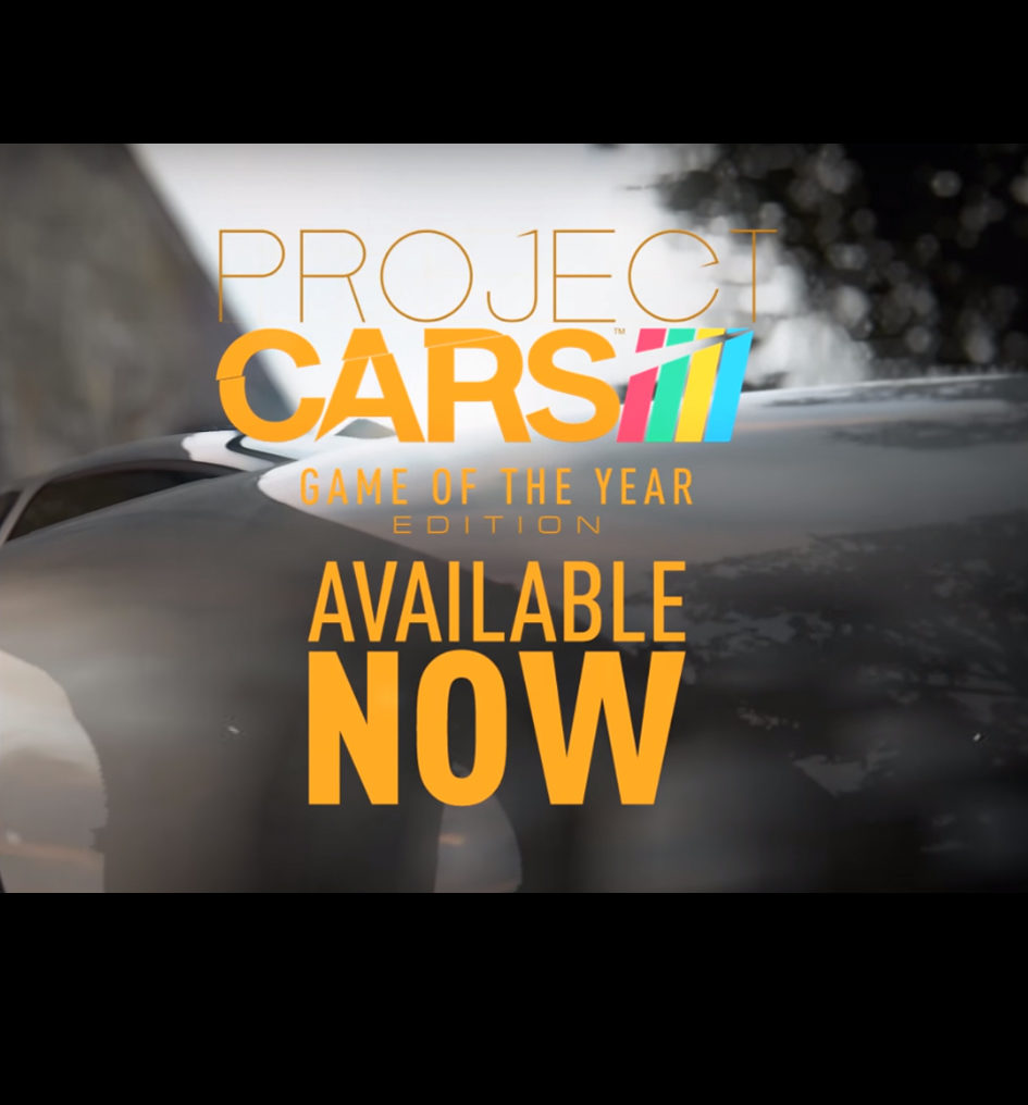 Project CARS - GOTY 2016 - cover