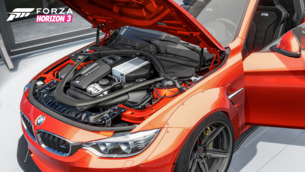 Forza Horizon 3 - Forzavista - engine under the hood - BMW M4