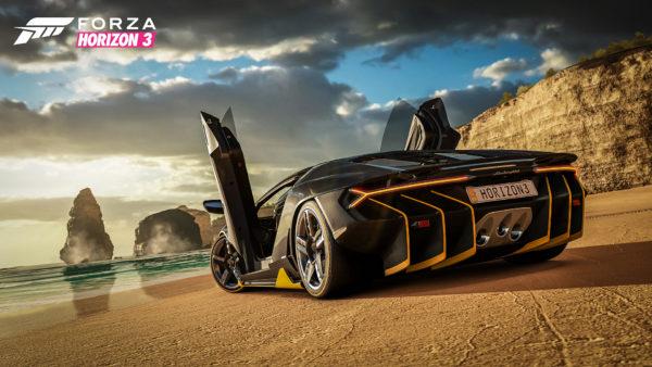 Forza Horizon 3 - Lamborghini Centenario - Beach