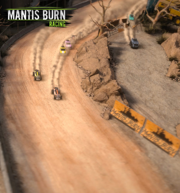 Mantis Burn Racing - 2016 - cover