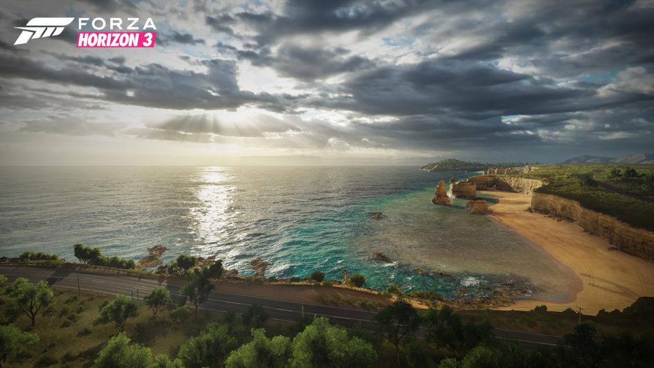 Forza Horizon 3 - Coast Landscape
