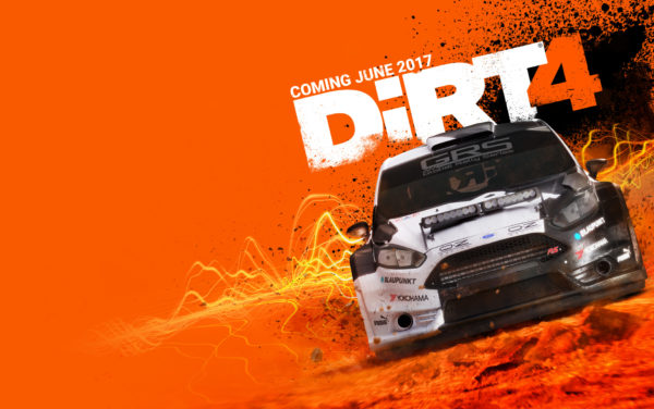 DiRT4 - cover
