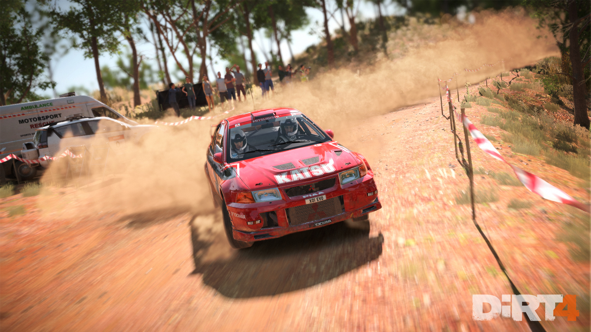 DiRT4 - screen - EVO6 - Australia