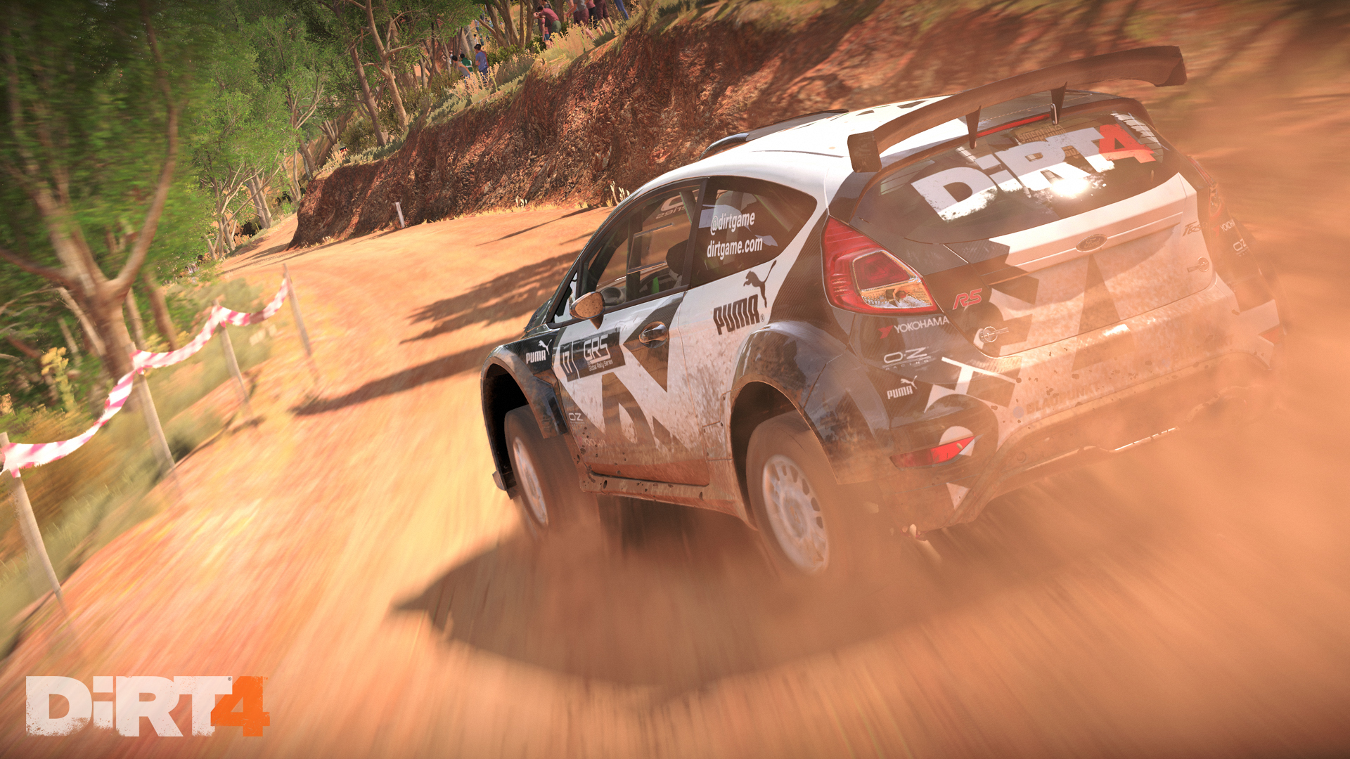 DiRT4 - screen - Fiesta - Australia - rear dirt