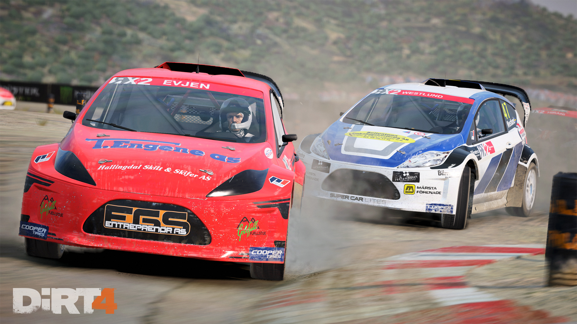DiRT4 - screen - RX - Montalegre - front dirt
