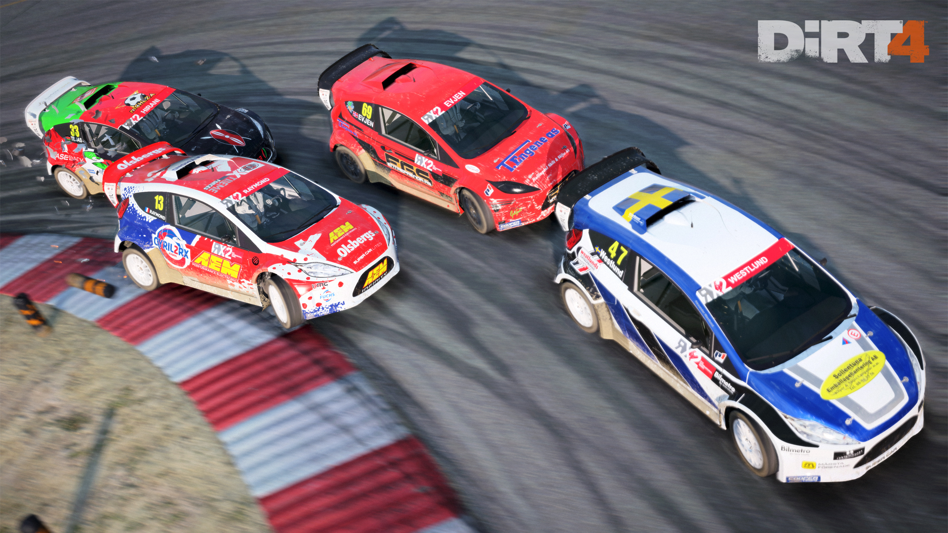 DiRT4 - screen - RX - Montalegre - cars