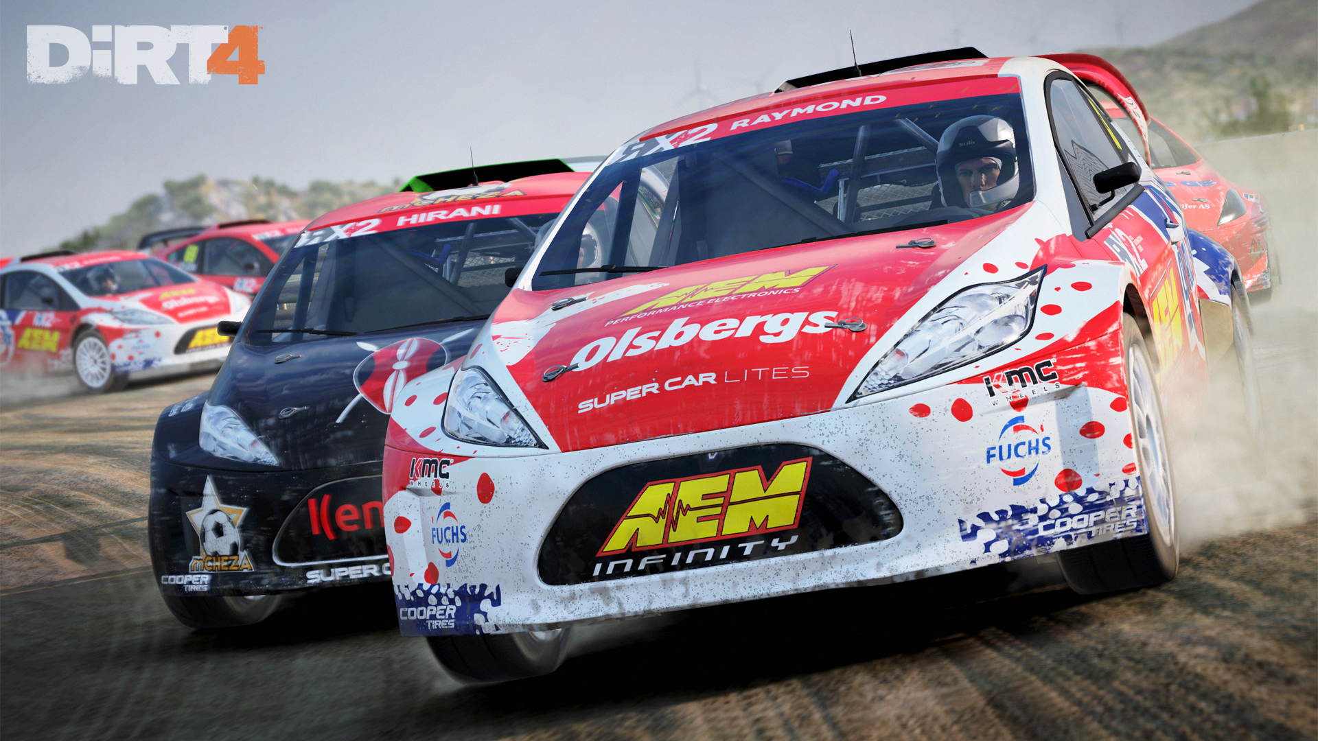 DiRT4 - screen - RX - Montalegre - front cars
