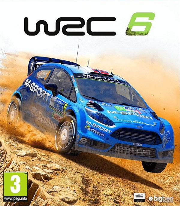 WRC 6 - cover