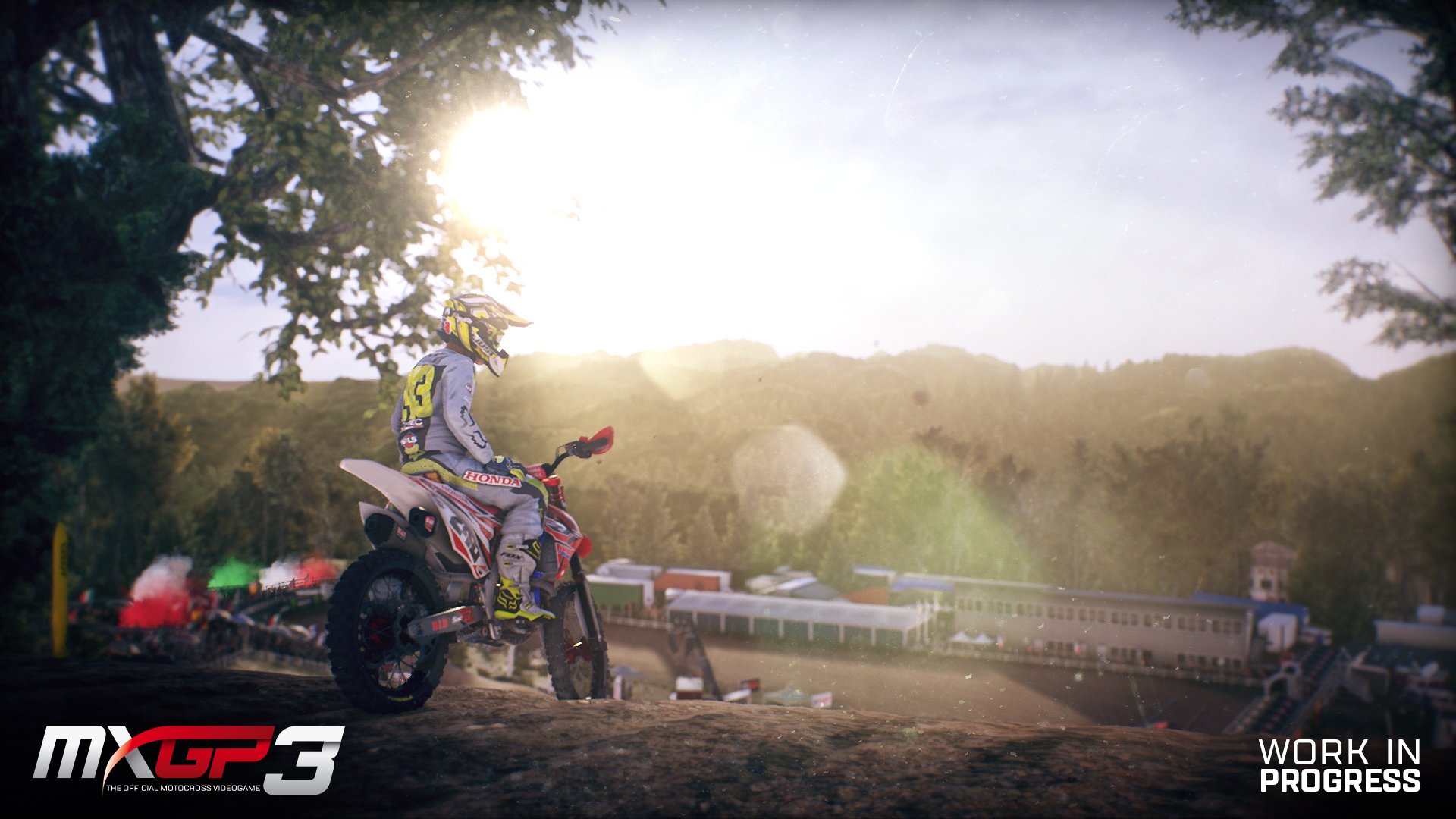MXGP3 - screen sun motocross biker
