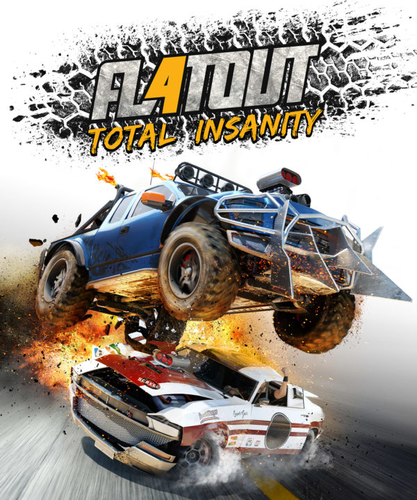 FlatOut4: Total Insanity - boxart - cover