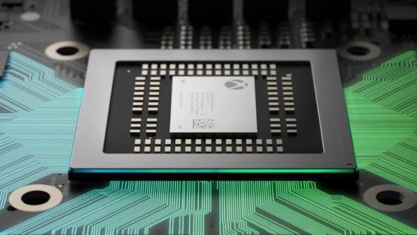 Xbox Scorpio 2017 - teaser