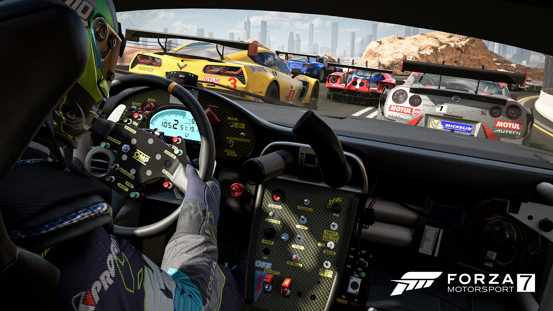 Forza Motorsport 7 - screen - driver view