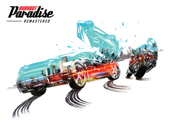 Burnout Paradise Remastered - 2018 - cover