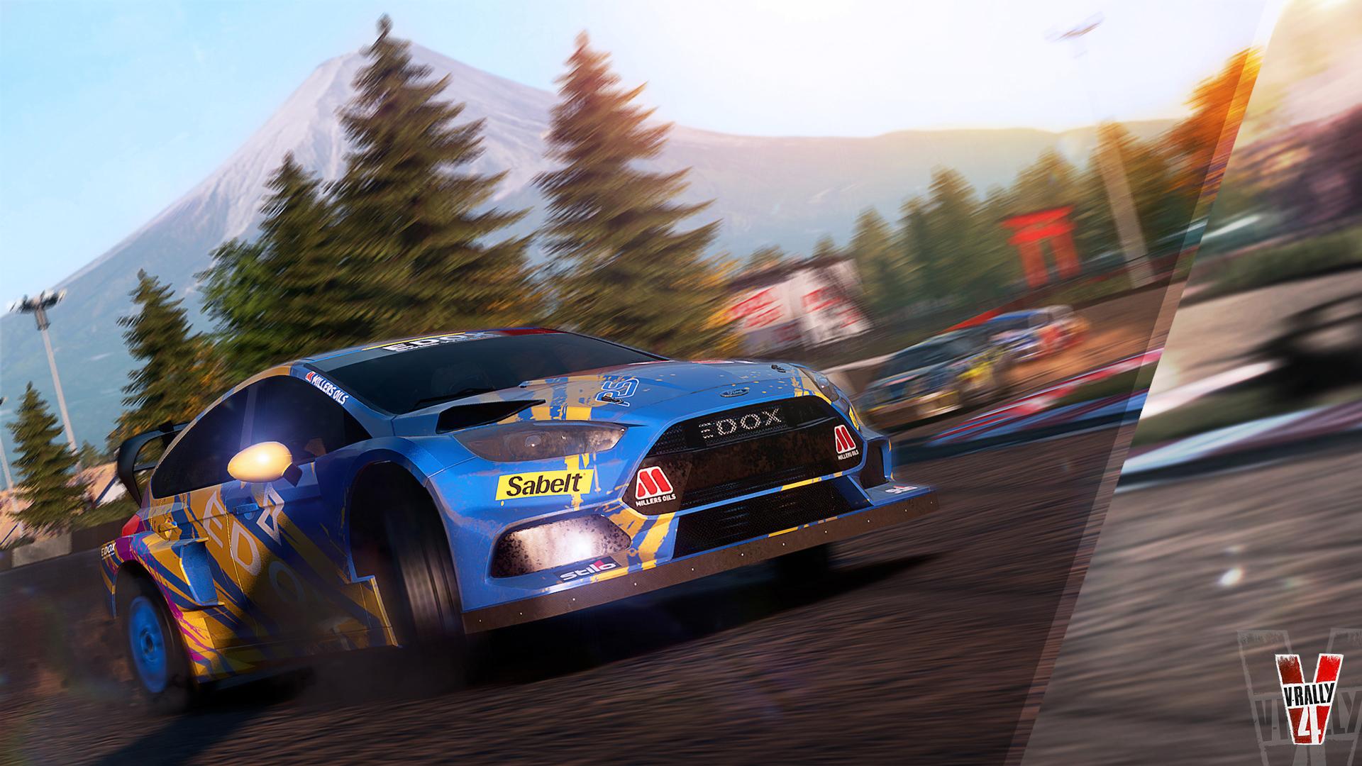 V-Rally 4 - Ford Fiesta RS RX -