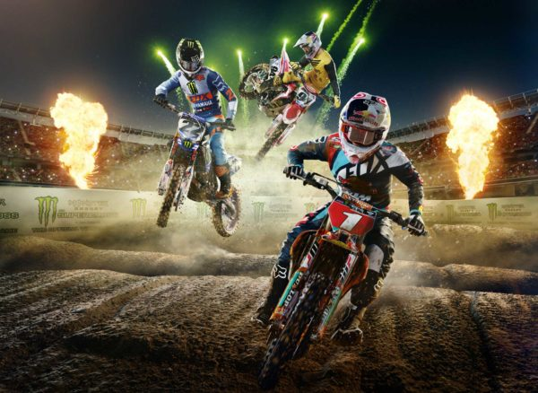 Monster Energy Supercross - 2018 - cover