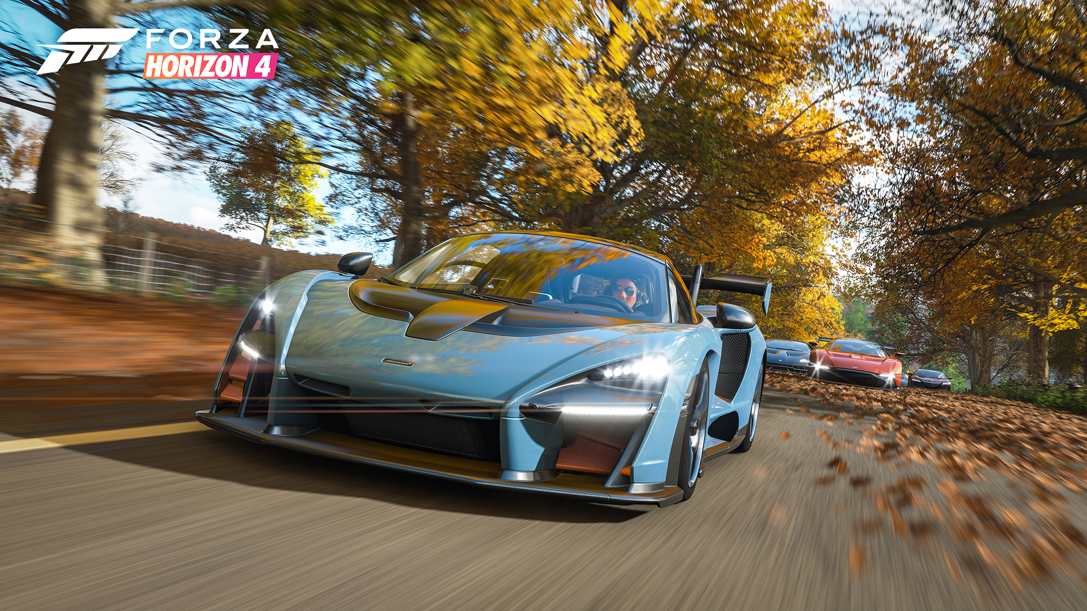 Forza Horizon 4 - 2018 - screen cars - McLaren Senna - autumn