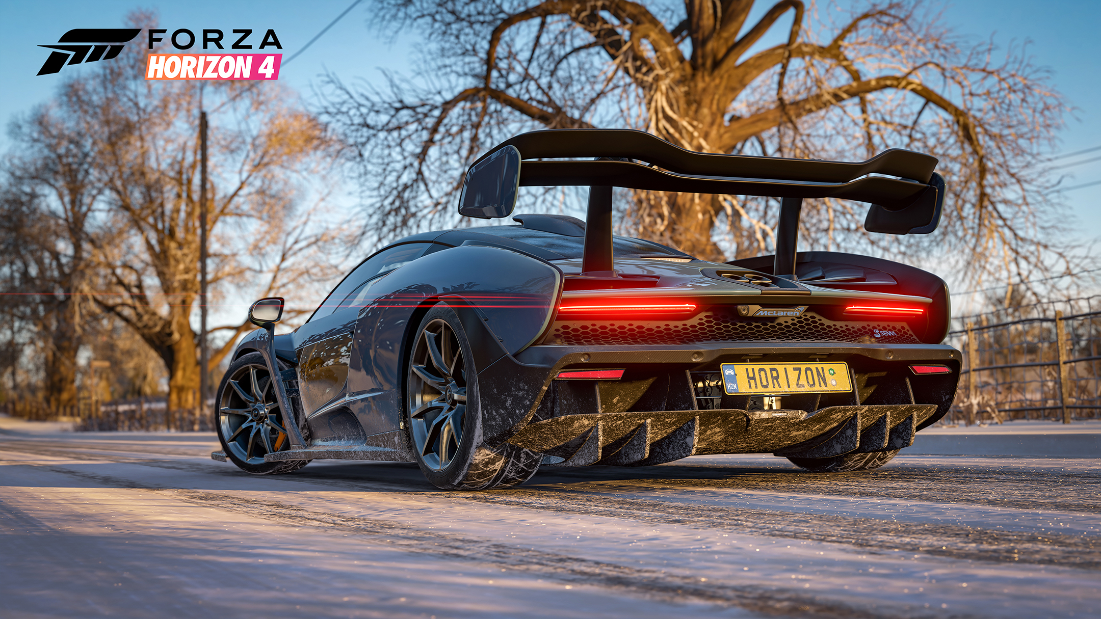 Forza Horizon 4 - 2018 - screen cars - McLaren Senna - winter