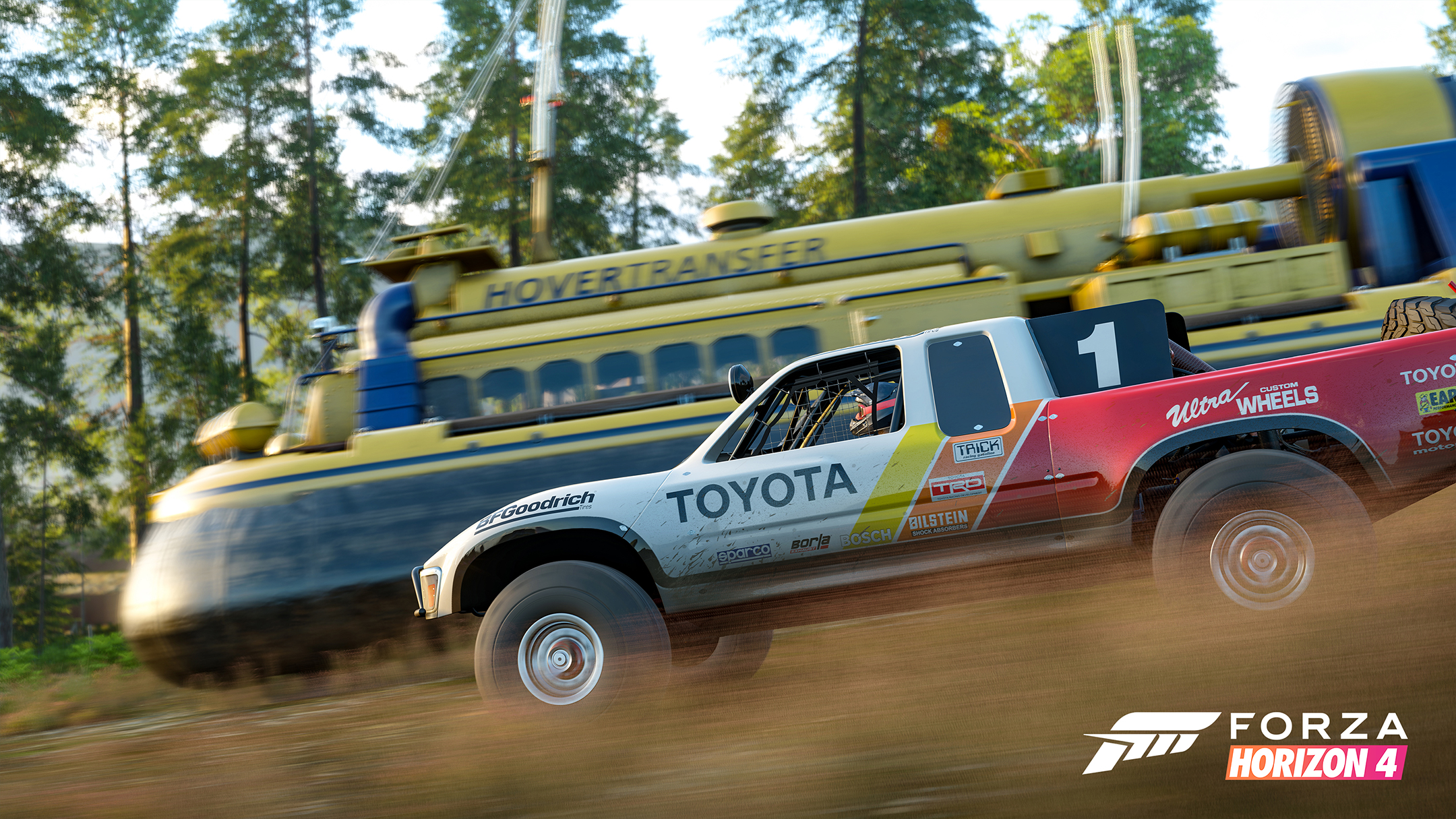 Forza Horizon 4 - 2018 - screen cars - Toyota Hilux